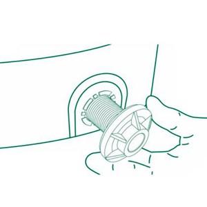"""Adaptador Caixa D'Água Soldável Click 20x1/2"""" Amanco"""