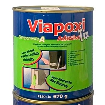 Adesivo Viapoxi Tix 1kg Viapol