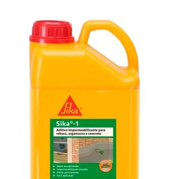 Aditivo Impermeabilizante Sika 1 Bombona 3,6L Sika Kit com 4