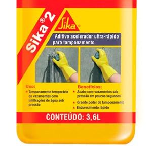 Aditivo Impermeabilizante Sika 2 3,6l Sika