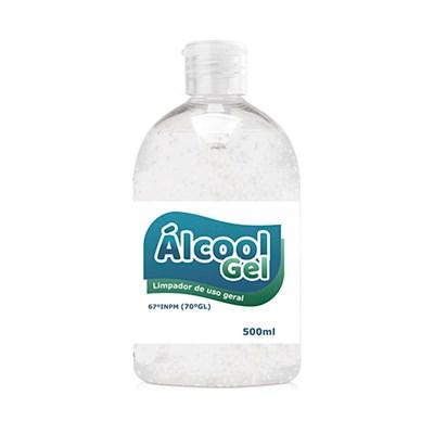 Álcool em Gel 70% Uso Geral 500ml Kit 5 un Proclean