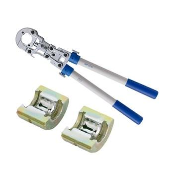 Alicate de Prensar Tubos Amanco c/ matrizes 16/20/26/32mm