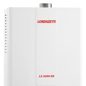 Aquecedor Gás GLP LZ2000DE Digital Eletrônico Lorenzetti