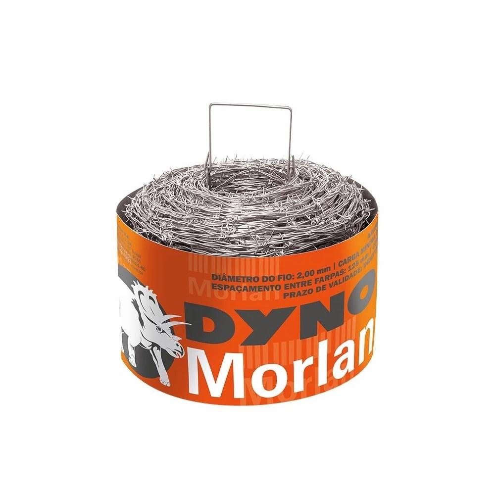 Arame Farpado Dyno Fio14 250m Morlan