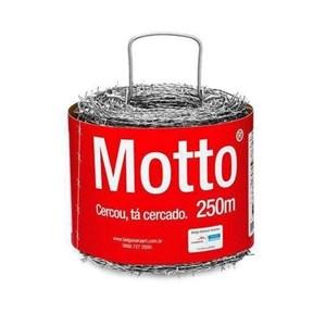 Arame Farpado Motto 250m Fio 16 Belgo