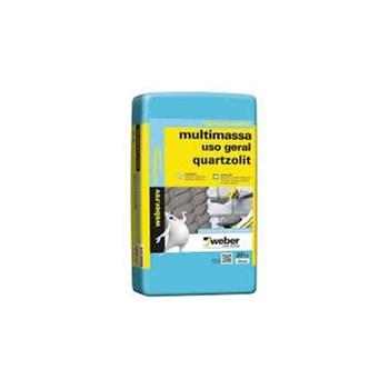 Argamassa Multimassa Uso Geral Cinza 20Kg Quartzolit