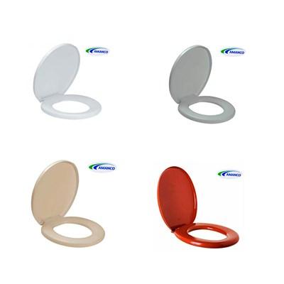 Assento Sanitário Confort Almofadado Amanco