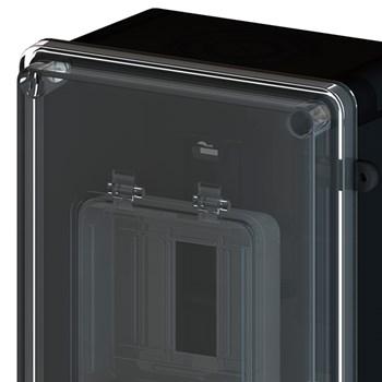 Caixa de Proteção Vertical CDJ3 N2 70A Preto 8532 Taf