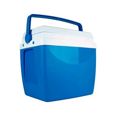 Caixa Térmica Cooler 26 Litros com Alça Azul Mor
