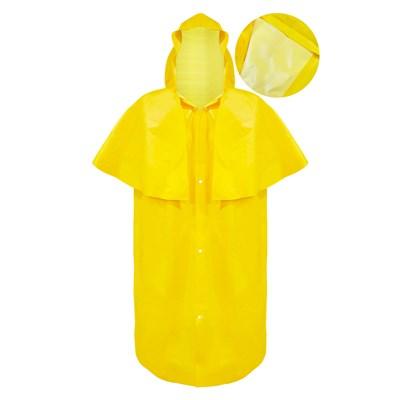 Capa de Chuva Lisa Morcego Amarela G Capseg