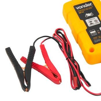 Carregador Inteligente de Bateria para Moto Bivolt CIB003 Vonder