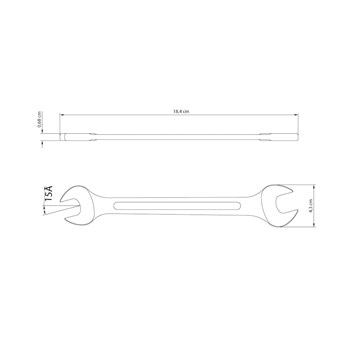Chave Fixa 18x19mm Tramontina
