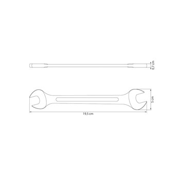 Chave Fixa 20x22mm Tramontina