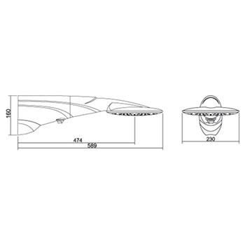 Chuveiro Ducha Advanced Turbo 7500w 220V Lorenzetti