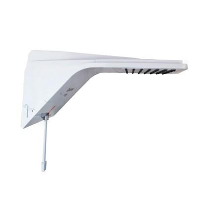 Chuveiro Ducha Ducali Eletrônica Branco 5500W 110v Zagonel
