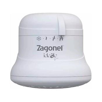 Chuveiro Ducha Ideale Plus 4 Temperaturas Branco 5500W 110V Zagonel