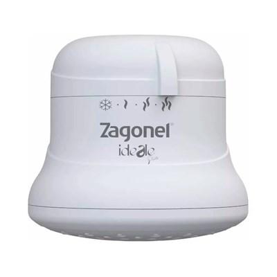 Chuveiro Ducha Ideale Plus 4 Temperaturas Branco 5700W 110V Zagonel