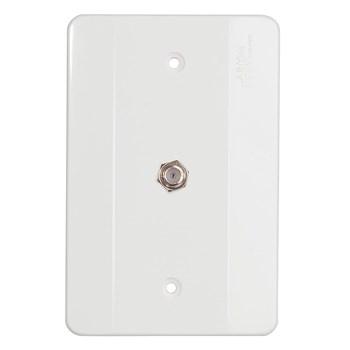 Conector Antena Com Placa 4X2 Mectronic