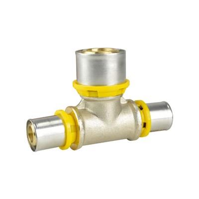 Conector TE Redução 16x20x16mm Gás Amanco