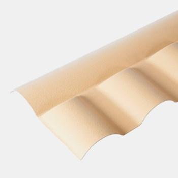 Cumeeira Central Articulada para Telha Plan Marfim Fortlev