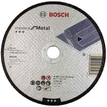 Disco de Corte Metal/Inox STD 180x1,6mm Bosch