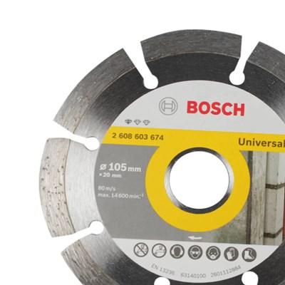 Disco Diamantado Bosch Standart Segmentado 105mm