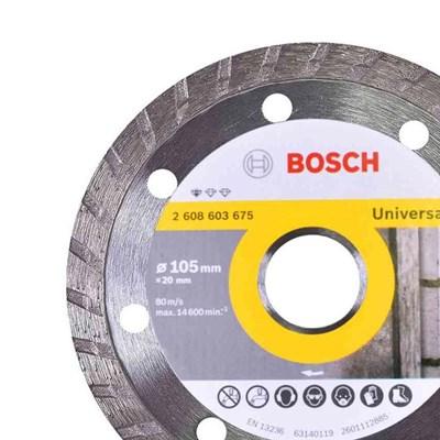 Disco Diamantado Bosch Standart Turbo 105mm