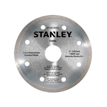 "Disco Diamantado Turbo Seco/Refrigerado 4"" Stanley"