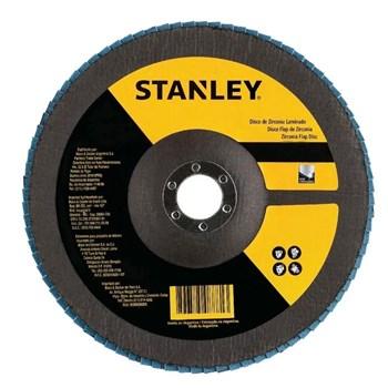 Disco Flap 7'' x 7/8''' Grão 80 Stanley