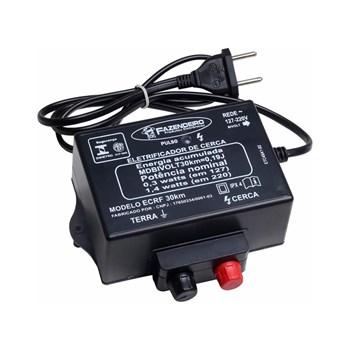 Eletrificador Rural para Cercas Proteção Gado Fazendas 30KM Sisvôo