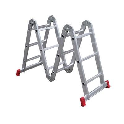Escada Articulada 3x4 Degraus 13 em 1 Botafogo