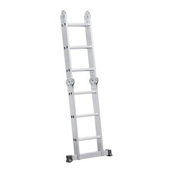 Escada Articulada em Alumínio 12 degraus 3x4 Vonder