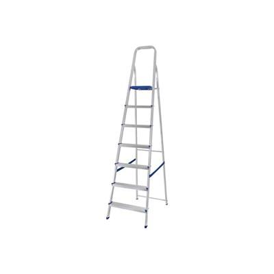 Escada doméstica de alumínio 7 degraus Mor
