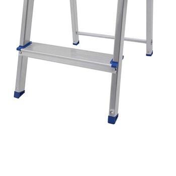 Escada doméstica de alumínio 8 degraus Mor