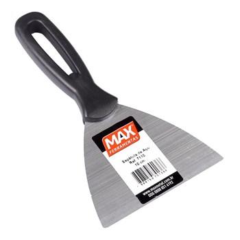 Espátula de Aço 10cm Cabo Plástico Max
