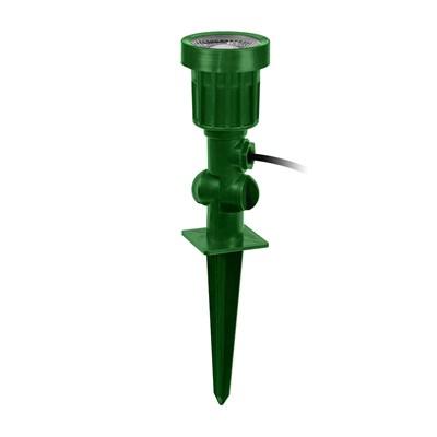 Espeto Projetor Jardim Pvc Verde Led Verde 6W Kian