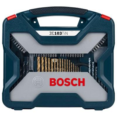 Estojo Kit de Ferramentas com 103 Peças X103 TIN Set Bosch