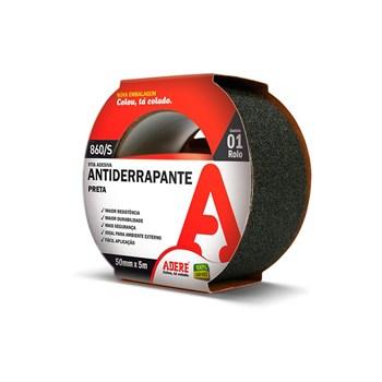 Fita Antiderrapante Preta 50mm X 5m Adere