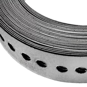 Fita Perfurada de Aço 17mm x 25m