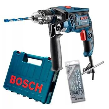 Furadeira De Impacto 1/2 650w Maleta 5 Brocas GSB13RE Bosch