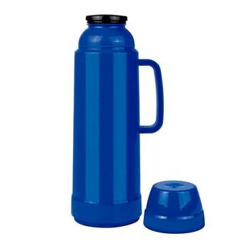 Garrafa Térmica 1 Litro Prática USE Azul Mor