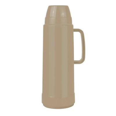 Garrafa Térmica 1 Litro Prática USE Bege Mor