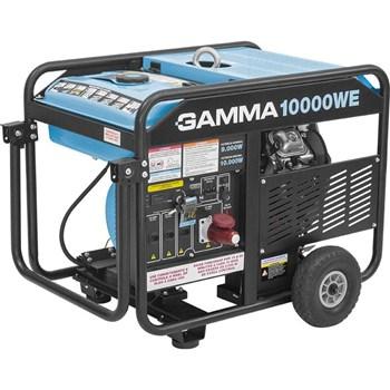 Gerador À Gasolina 4 Tempos 10.000W 220V 380V Ge3469/Br 10000We Gamma