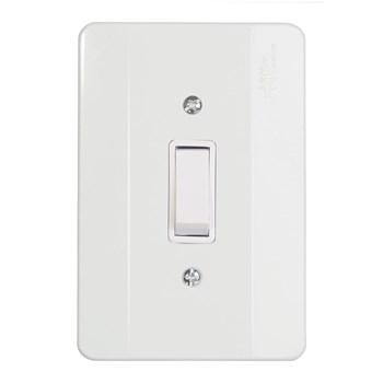 Interruptor 1 Tecla Simples Com Placa Mectronic