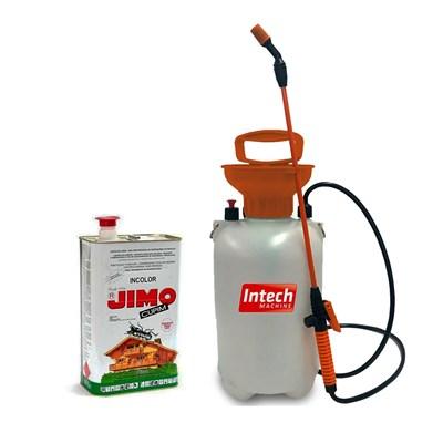 Jimo Cupim Incolor Lata 5L e Pulverizador Intech 5L