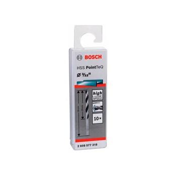 Kit 10 Brocas Aço Rápido Hss Pointteq 3/32 Bosch