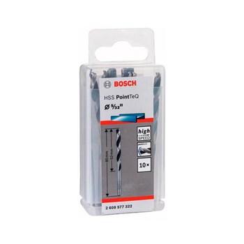 Kit 10 Brocas Aço Rápido Hss Pointteq 5/32 Bosch