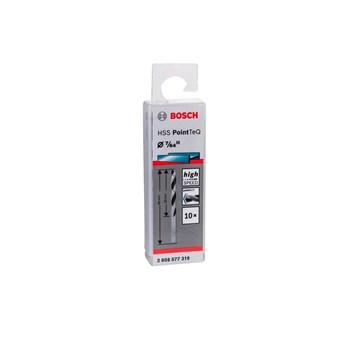 Kit 10 Brocas Aço Rápido Hss Pointteq 7/64 Bosch