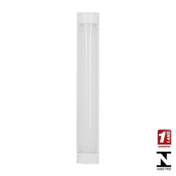 Kit 10 Luminarias Tubular Led Sobrepor Elegance 18w 6000k 120cm Calha Bivolt Avant