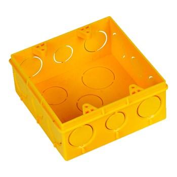 Kit com 20 Caixa de Luz 4x4 Amarela Amanco